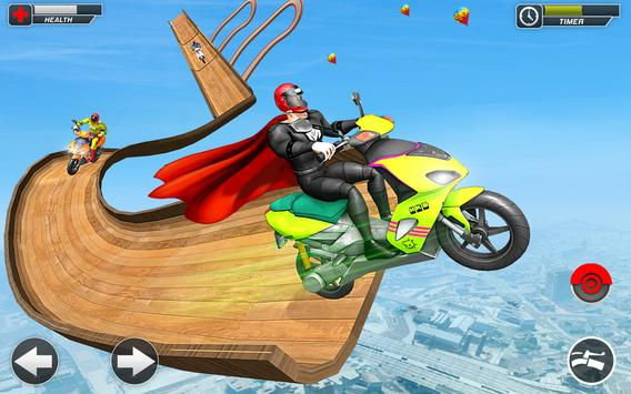 Superhero Scooter GT Stunt Game: Impossible Tracks screenshot 9