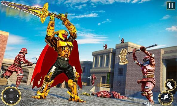 Ninja Warrior Robot Hero : Assassin Robot Games screenshot 3