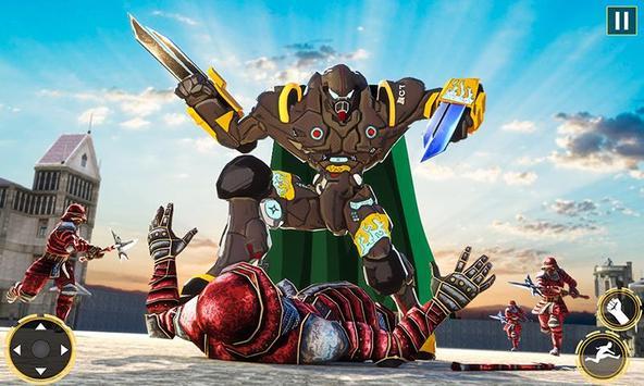Ninja Warrior Robot Hero : Assassin Robot Games poster
