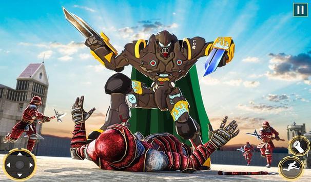 Ninja Warrior Robot Hero : Assassin Robot Games screenshot 10