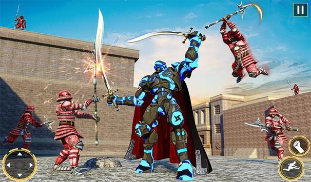 Ninja Warrior Robot Hero : Assassin Robot Games screenshot 11