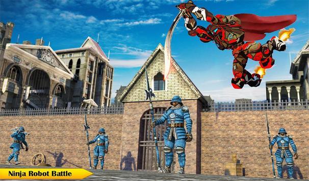 Ninja Warrior Robot Hero : Assassin Robot Games screenshot 13