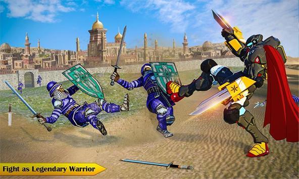 Ninja Warrior Robot Hero : Assassin Robot Games screenshot 2