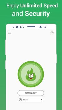 VPN Free - GreenNet Hotspot VPN & Private Browser screenshot 3