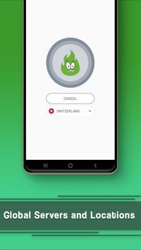 VPN Free - GreenNet Unlimited Hotspot VPN Proxy スクリーンショット 1