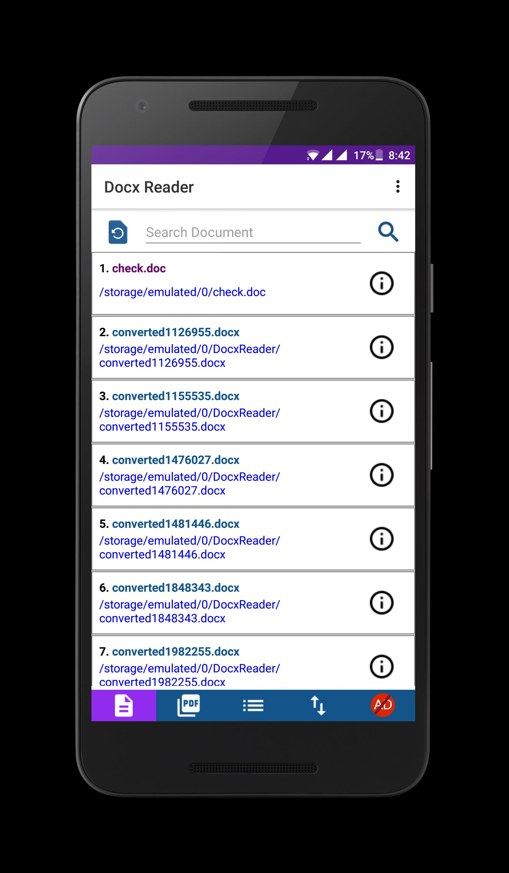 Docx Reader for Android - APK Download