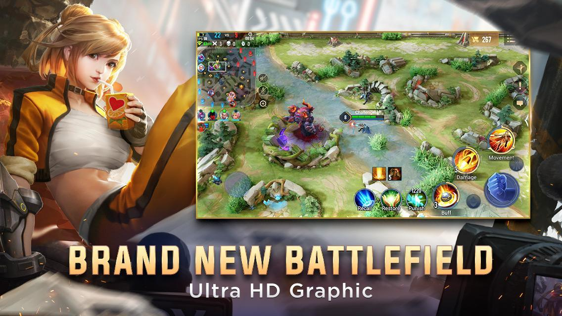 Garena AOV - Arena of Valor: Action MOBA cho Android - Tải