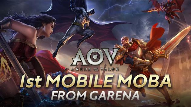 Garena AOV - Arena of Valor poster