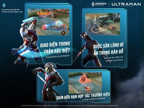 Garena Liên Quân Mobile x Ultraman8