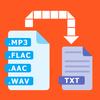 Audio to text (speech recognition) biểu tượng