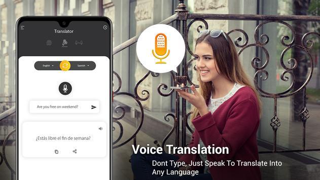 All languages Translate - Voice & Speak Translator screenshot 1