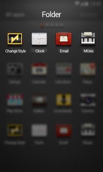 Concise Go Launcher Theme screenshot 2