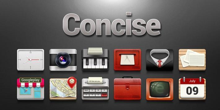 Concise Go Launcher Theme screenshot 3