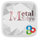 Metal R GO Launcher Theme