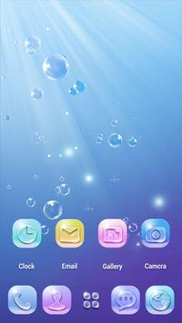 Bubble GO Launcher Theme screenshot 1