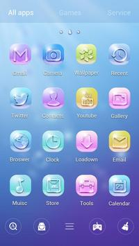 Bubble GO Launcher Theme screenshot 2