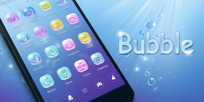 Bubble GO Launcher Theme screenshot 4