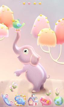 Elephant GO Launcher Theme poster