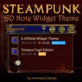 Steampunk Tempus Fugit GO Note icon