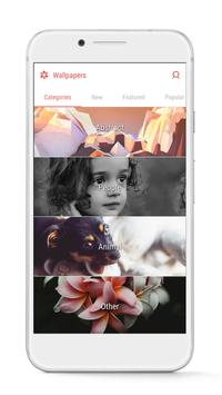GO Launcher - 3D parallax Themes & HD Wallpapers screenshot 7