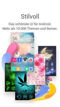 GO Launcher: Thema&Wallpaper Plakat