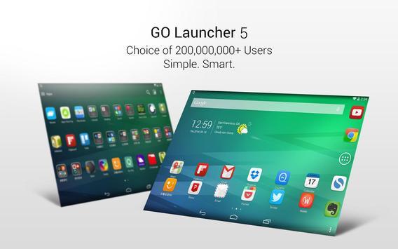 GO Launcher-Thèmes capture d'écran 5