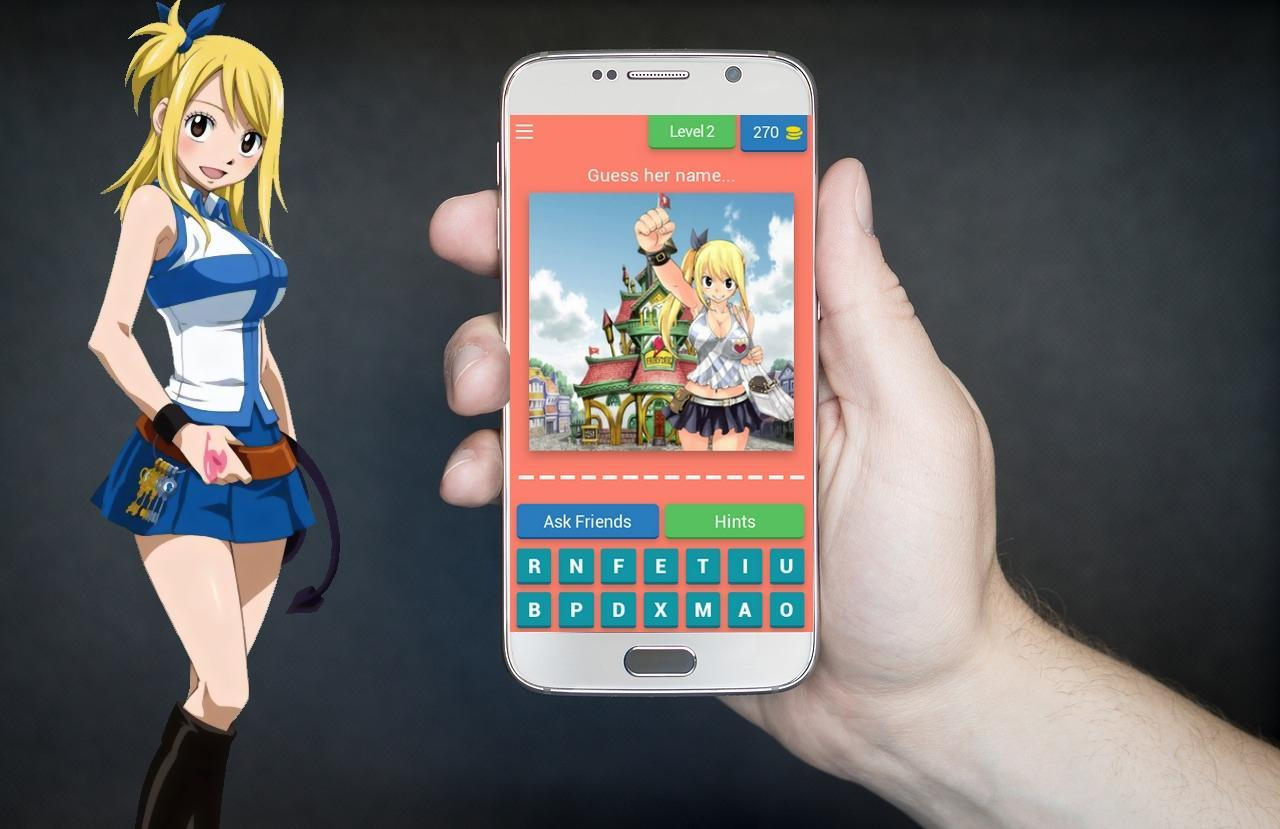 Fairy Tail Characters Quiz For Android Apk Download
