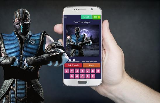 Mortal Kombat Quiz poster
