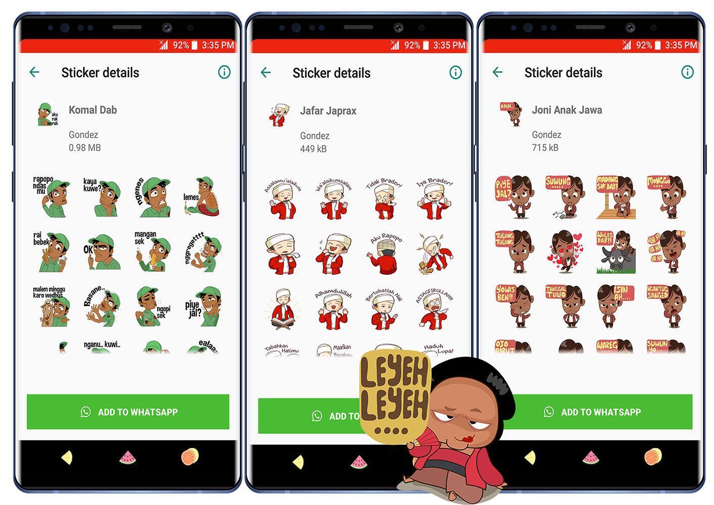 Wa Sticker Jowo Gayeng For Android Apk Download