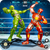 Steel Robot Fight Ring Battle icon