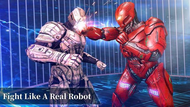 Steel Robot Fight Ring Battle poster