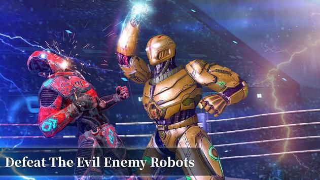 Steel Robot Fight Ring Battle screenshot 1