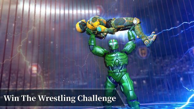 Steel Robot Fight Ring Battle screenshot 2