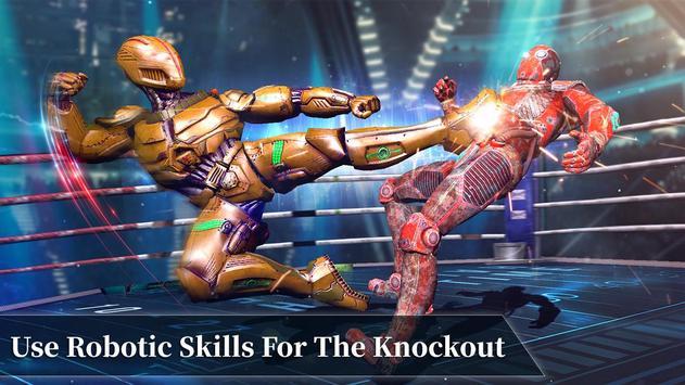 Steel Robot Fight Ring Battle screenshot 3