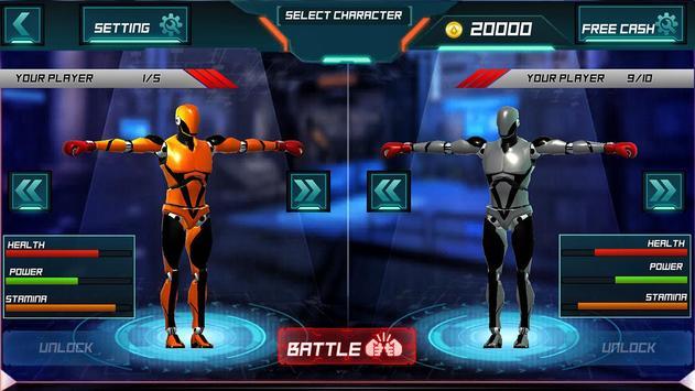 Steel Robot Fight Ring Battle screenshot 4
