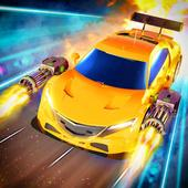 Traffic Car Shooter Racing Drive Simulator icon