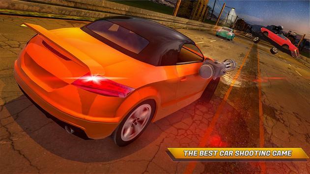 Traffic Car Shooter Racing Drive Simulator screenshot 3
