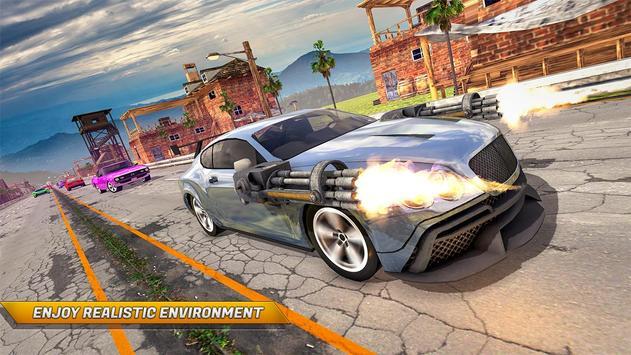 Traffic Car Shooter Racing Drive Simulator poster