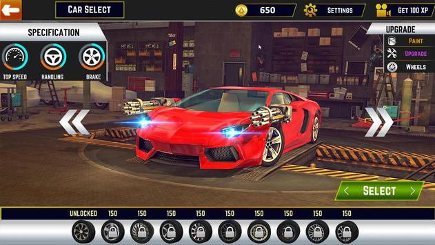 Traffic Car Shooter Racing Drive Simulator screenshot 14