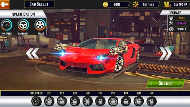 Traffic Car Shooter Racing Drive Simulator screenshot 9