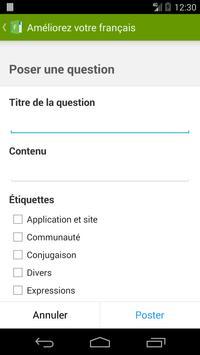 Améliorez votre français ! capture d'écran 5