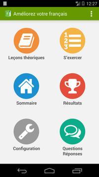 Améliorez votre français ! Affiche