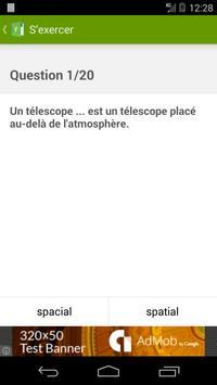 Améliorez votre français ! capture d'écran 3