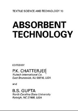 Absorbent Technology By P.K. Chatterjee poster