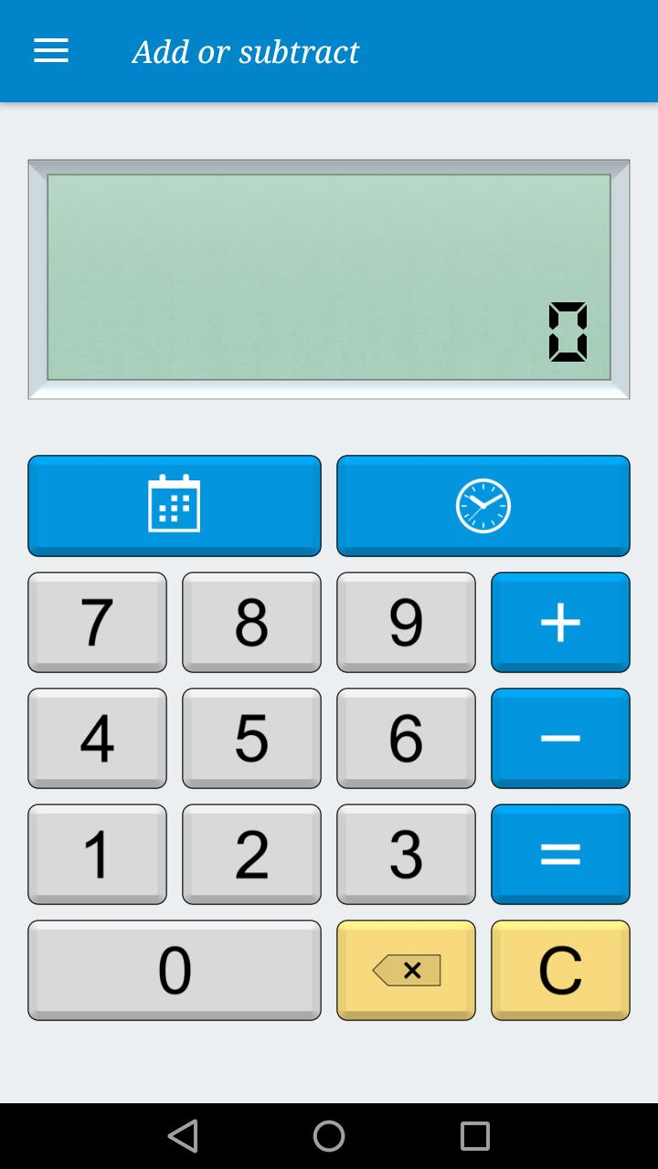 Calculator Date & time (Free) for Android - APK Download