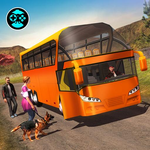 Offroad Tracks Bus Racing: Driving games APK