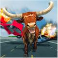 Wild Bull City Attack: Bull Simulator Games