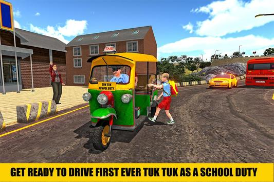 Indian Tuk Tuk School Auto Rickshaw Mountain Drive screenshot 4