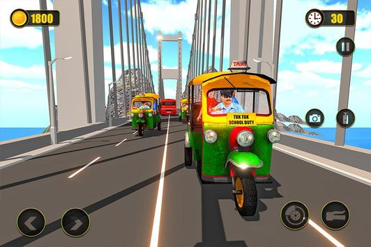 Indian Tuk Tuk School Auto Rickshaw Mountain Drive screenshot 11