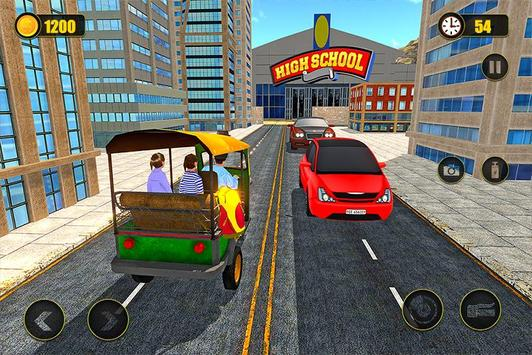 Indian Tuk Tuk School Auto Rickshaw Mountain Drive screenshot 2